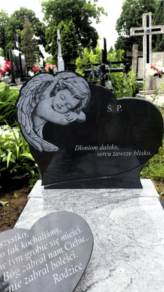 anioł grawer w kamieniu