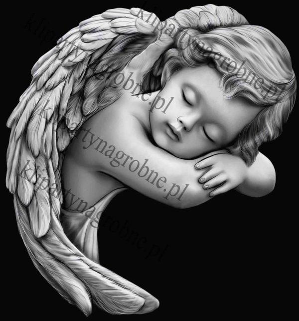 Anioł grawer