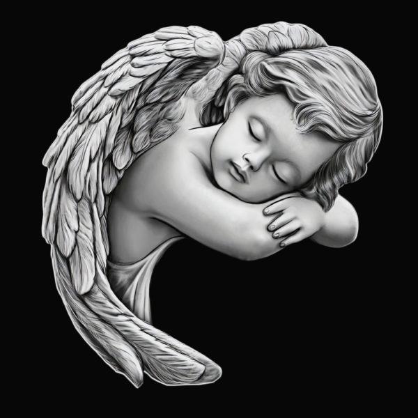 pomnik dziecięcy anioł