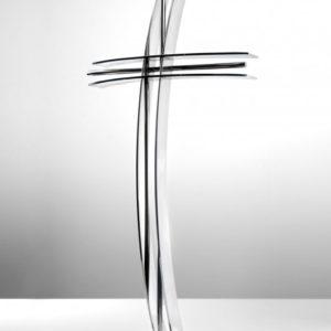 Krzyż łukowy stojący