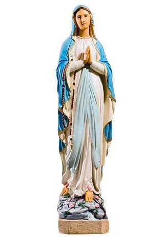 Matka Boża figura nagrobna