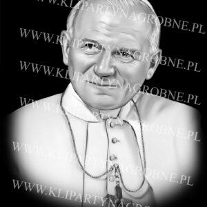 Grawer papieża w kamieniu