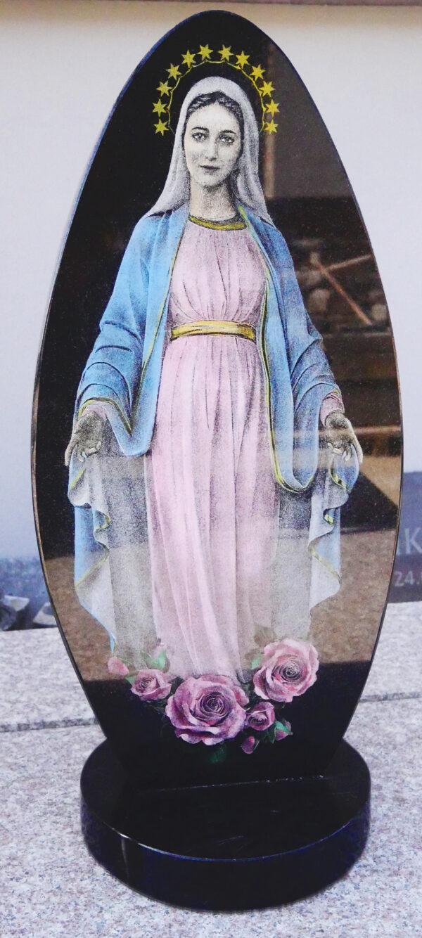 grawer w kamieniu Maryja